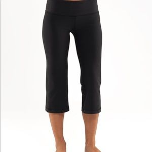 Reversible high waisted lululemon crop pants